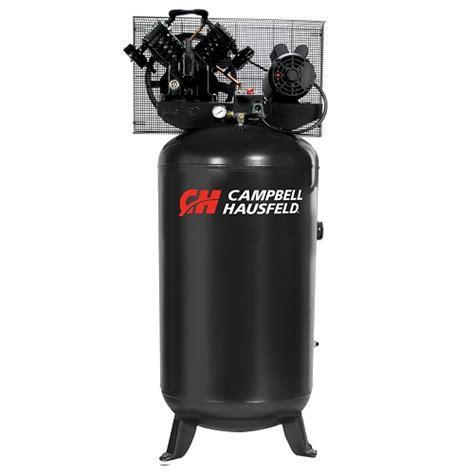 air compressor 80 gallon 5 hp cbell hausfeld ce4104