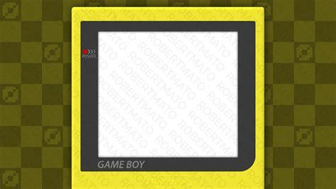 gameboy layout twitch layout gameboy robert mato by robertmato on