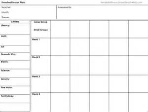 monthly lesson plan template free preschool lesson template free word excel pdf format
