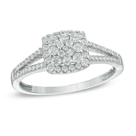square engagement rings square rings wedding promise