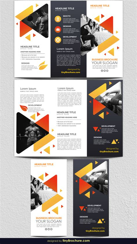 3 Panel Brochure Template Docs
