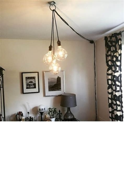 does the pendant light and the chandelier over the table industrial unique and power strips on pinterest