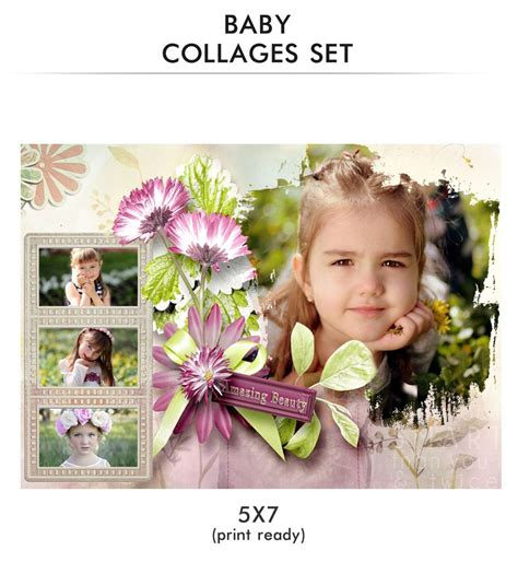 popular items for baby collage baby collage set amazing