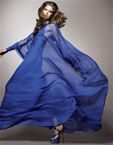 Blus Fashion2 samuel green style cobalt blue