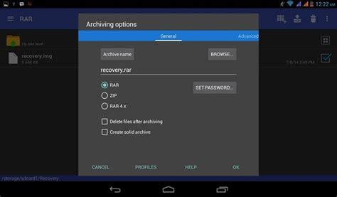 cara membuat update zip di android cara membuka dan membuat file rar zip di android