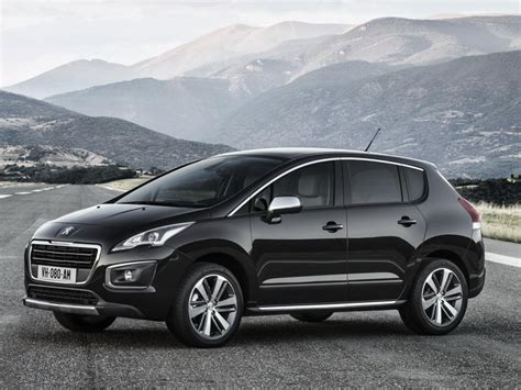 is peugeot 3008 a good car 2014 peugeot 3008 facelift revealed cars co za