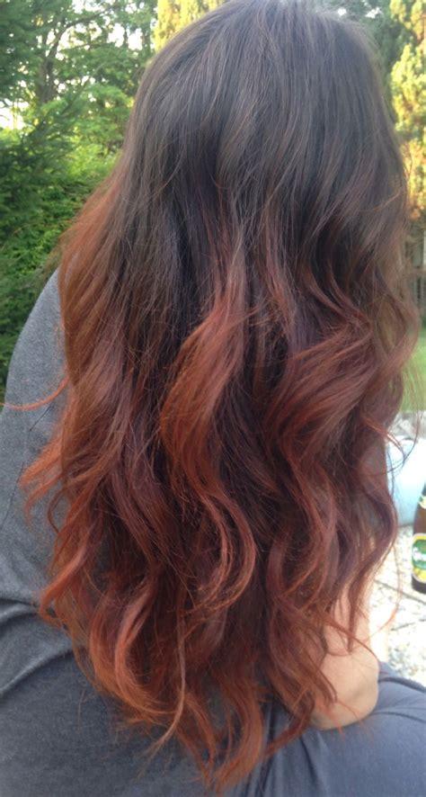 black with red dip dye hair red hair with black dip dye www pixshark com images