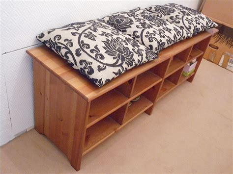 ikea bench with shoe storage image gallery ikea storage bench