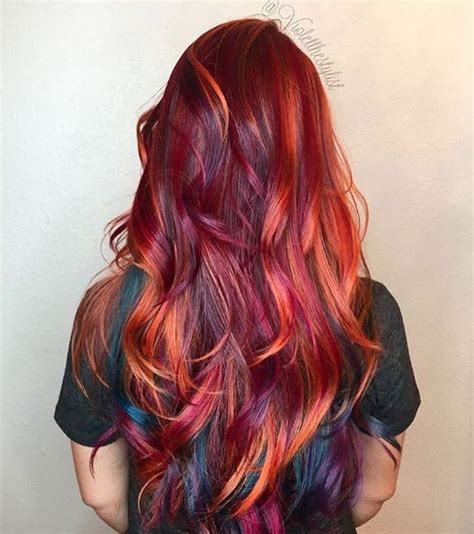 wot the best colour hair for 2015 trending this week on instagram fiery reds we love that