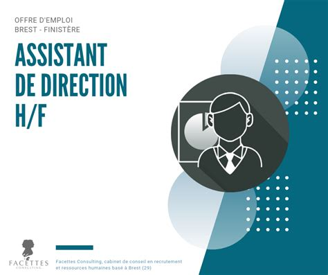 Cabinet Recrutement Brest by Assistant De Direction H F Facettes Consulting Cabinet
