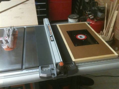 router table extension  grripper woodworking