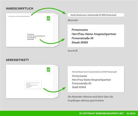 Adrebe Anschrift Herrn Und Frau Umschlag Beschriften Und Versenden Bewerbungsprofi Net