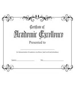 academic award certificate template academic excellence award kukook