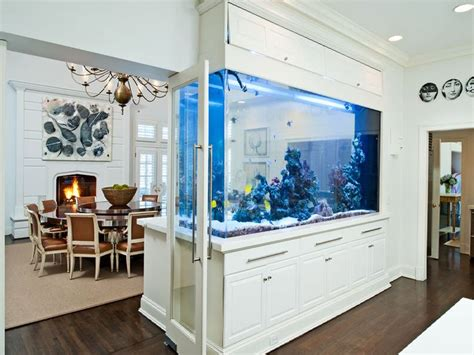 Modern Kitchen Island Designs 8 extremely interesting places to put an aquarium in your home