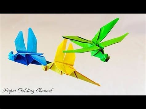 Dragonfly Origami - on dragonfly origami