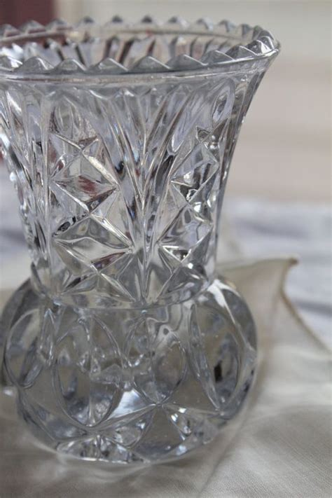 princess house crystal princess house mini lead crystal bud vases by lalsart on