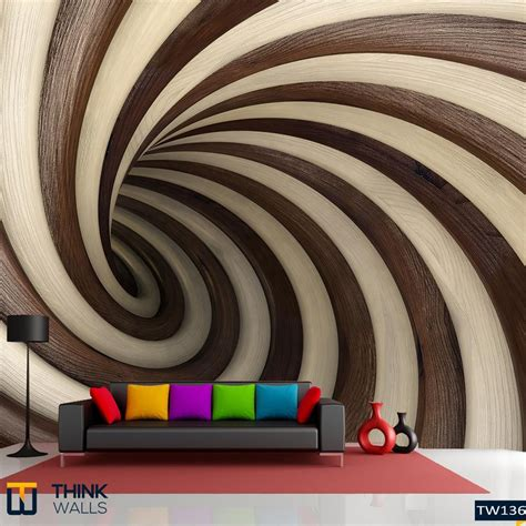 wallpaper for walls hyderabad abstract wood twisted tunnel buy abstract wood twisted