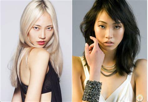 blond asian of asia bleaching asian hair platinum challenge or salongeek