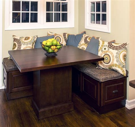 corner table bench corner kitchen table with storage bench ideas home