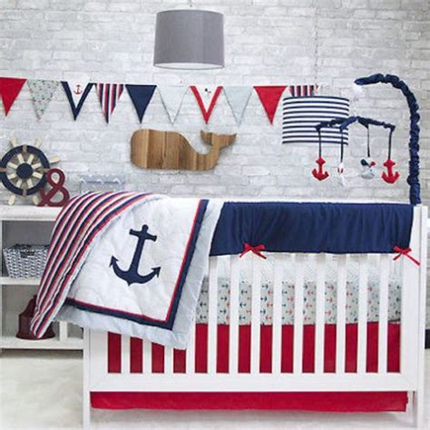 Sailor Crib Bedding 17 Best Ideas About Nautical Mobile On Sailor Baby Rooms Nursery Themes For Boys
