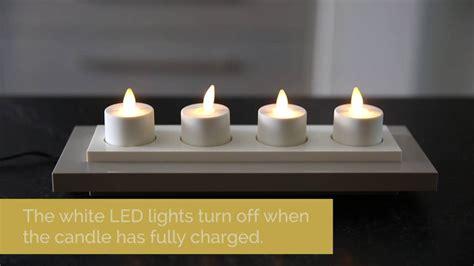 Luminara Tea Lights by Using Your Rechargeable Luminara Tea Lights