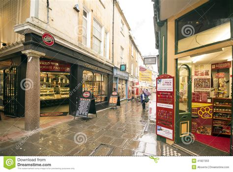bathtub shopping shopping street in bath uk editorial stock photo image 41827353