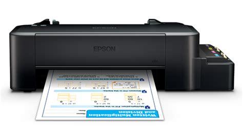 Printer Epson L120 Dan Spesifikasi Printer Epson L120 Spesifikasi Dan Harga