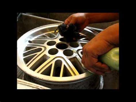 como pulir aluminio como pulir un rin de aluminio how to aluminum