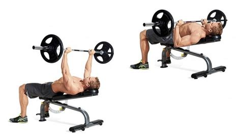 incline bench barbell press 10 best exercises to get rid of your man boobs or chest fat