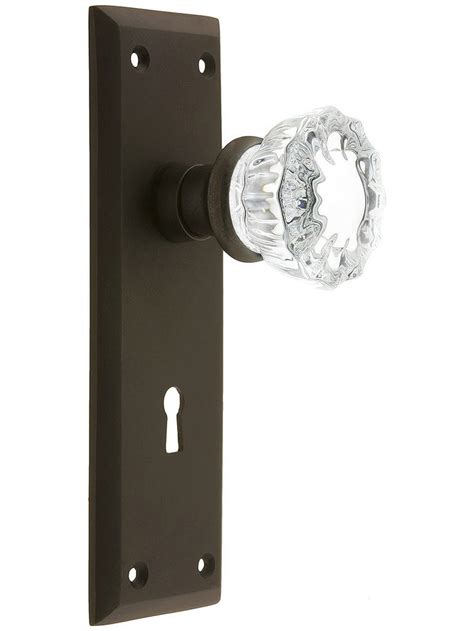 house of antique hardware coupon new york style door set with fluted crystal glass door knobs