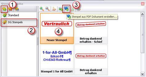 Word Vorlage Importieren Eigenen Stempel In Pdf Xchange Viewer
