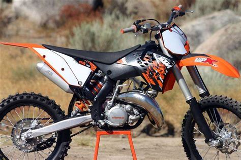 Ktm Two Stroke Racer X Tested 2009 Ktm Two Strokes Racer X