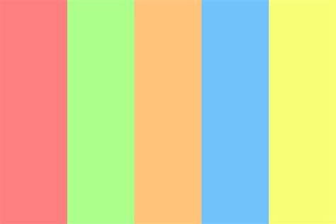complementary color palette complementary pastel color palette