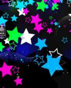wallpaper neon gif free polka dot neon stars gif phone wallpaper by shawtylow