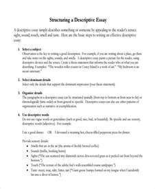 Writing Descriptive Essay by 7 Descriptive Essay Exles Sles
