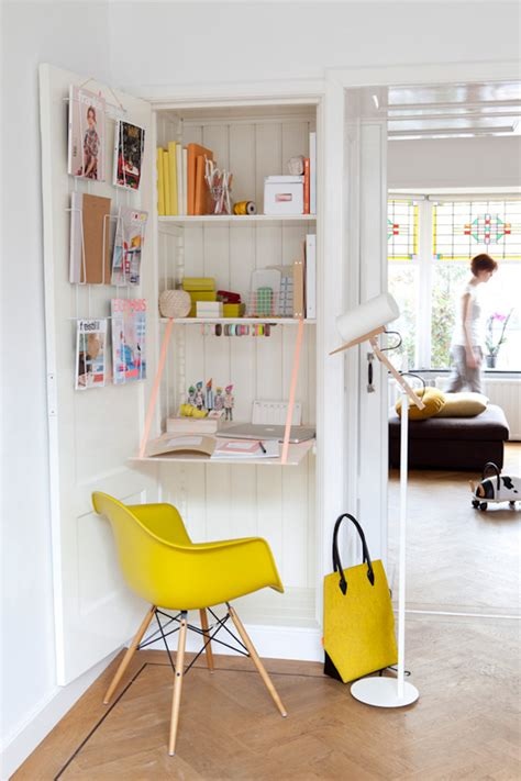 Just Two Fabulous Workspaces by 10 Small Workspaces That Work Dressed By Style