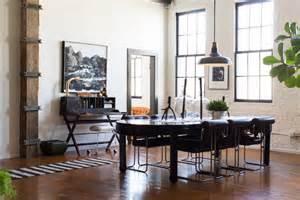 19 chic industrial dining room design ideas