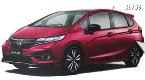 new honda fit 2018 2018 honda fit jazz leaked ahead of its debut next month