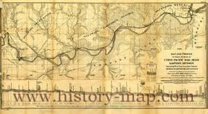 union pacific railroad map history of the union pacific railroad with images
