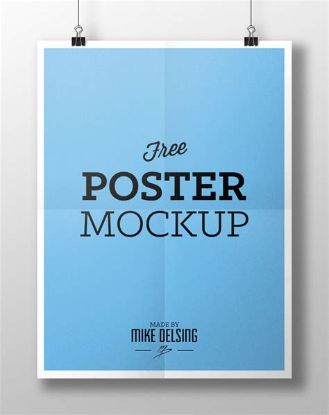 Free Poster Templates 20 free psd templates to mockup your poster designs