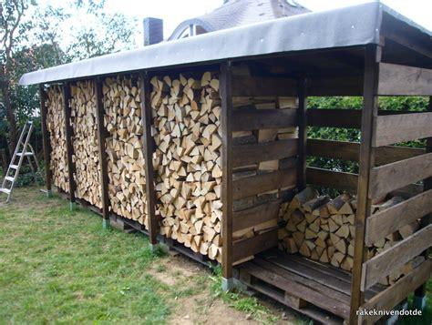 gestell holzlagerung einen stabilen brennholzunterstand brennholzschuppen gut