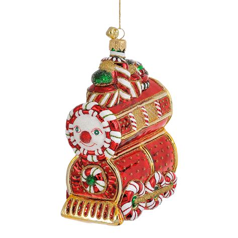 moveable christmas train ornaments jinglenog ornament gump s