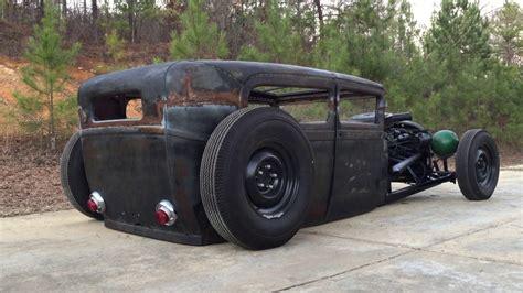 ford model a rat rod 1929 ford model a sedan bagged rat rod chopped air ride