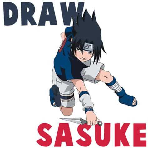 cara menggambar sasuke uchiha dengan mudah dan sederhana dunia menggambar