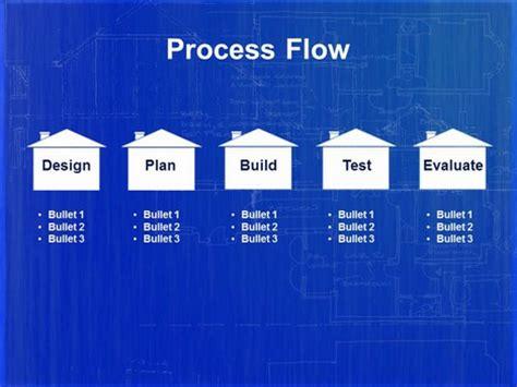Home Blueprint Powerpoint Template Blueprint Powerpoint Template
