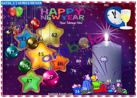 new themes for kitty party new year theme tambola housie tickets kitty party games