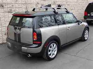 buy used mini cooper clubman leather sunroof roof rack