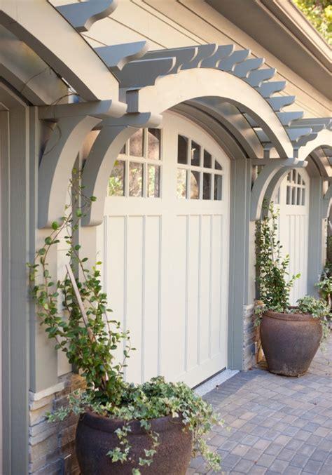 Garage Doors Trellis Potted Vine Dream Home Pinterest Trellis Garage Door