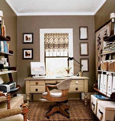 Office Wall Colors Dens Libraries Offices Brown Neutral Home Office Aupe