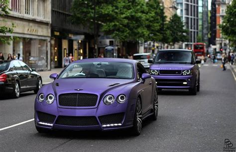 matte purple bentley top 10 meanest matte cars of instagram